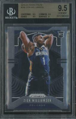 2019 Panini Prizm #248 Zion Williamson RC Rookie Gem Mint BGS 9.5
