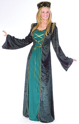 Adult Sexy Lady In Waiting Medieval Renaissance Maid Marian Costume