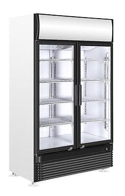 Getränkekühlschrank, Flaschenkühlschrank, 750 Liter, 2 Türen