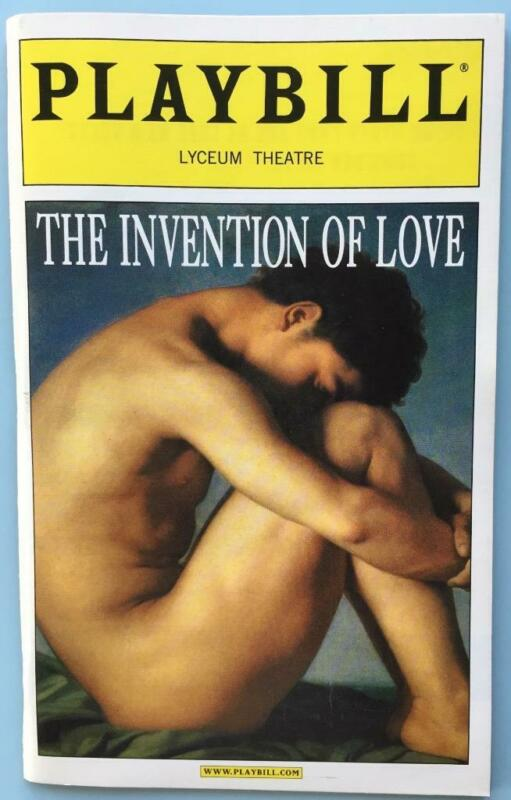Playbill The Invention of Love Robert Sean Leonard Richard Easton David Harbour