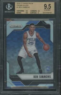 2016 Panini Prizm #1 Ben Simmons Rookie RC Gem Mint BGS 9.5