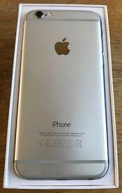 Iphone 6 White/Silver 16GB ***UNLOCKED***