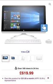 HP Pavilion All in One Desktop w/ 24in Touchscreen Monitor