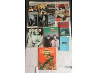 Oasis Dvd's and Books including Tour Programme