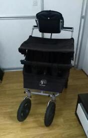 Abc adventure triple buggy pushchair