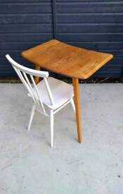 Ercol Plank Table Extension Desk Vintage Retro Mid Century