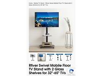 Rfiver tv mobile stand 32' - 65'