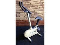 V Fit FC1 Exercise gym bike. Works well 1 missing rubber on leg but no problem