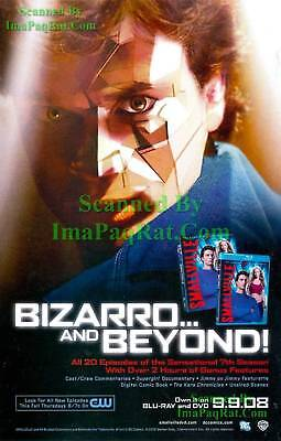 Smallville: Bizarro & Beyond: 7th Season DVD: Print Ad!