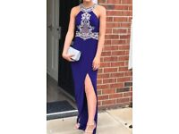 Prom Dress - Jasz Couture - Blue/silver diamonte
