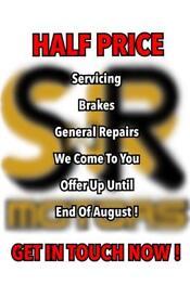 HALF PRICE SERVICES - BRAKES - GENERAL REPAIRS