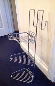 Shower hanger, caddy, 3 tiers