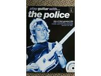 Police guitar tab book