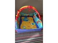 Baby play mat with music and lights