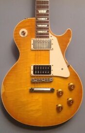 Gibson Les Paul aged collectors choice no 15