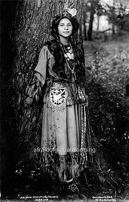 Photo. 1900s. Native American Seneca Indian - Pretty Flower