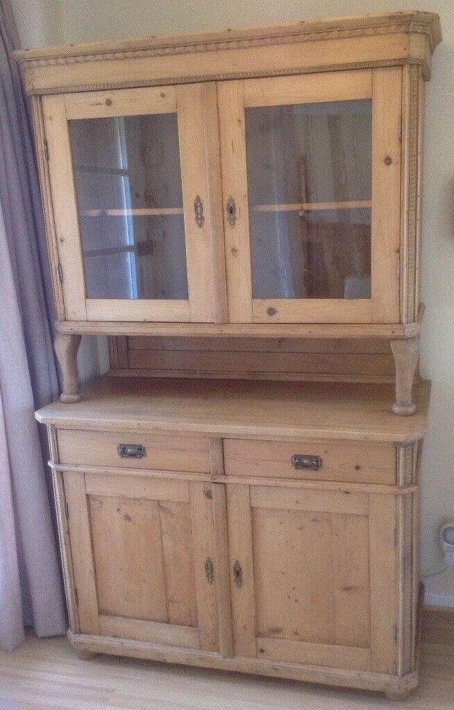 Eastern European Antique Pine Dresser