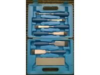 6 Piece Chisel Set and Sharpening Stone