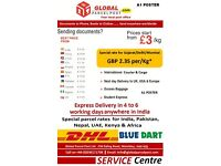 EXCESS BAGGAGE/SHIPPING/COURIER/DOOR TO DOOR SERVICE TO INDIA & WORLDWIDE