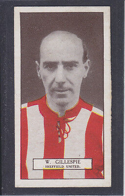 Pattreiouex - Footballers Series 1927 - # 32 Gillespie - Sheffield United