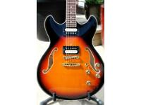 IBANEZ AS73 Sunburst / with Bare Knuckle's