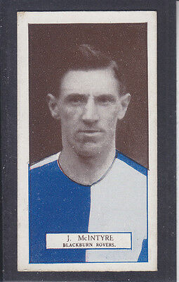 Pattreiouex - Footballers Series 1927 - # 45 McIntyre - Blackburn