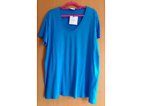 ASOS maternity blue t-shirt size-16 [new with tags]