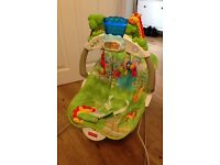 Fisher price deluxe rainforest friends bouncer seat