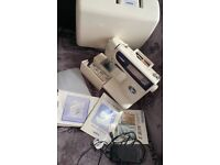 Brother digital sewing embroidery machine