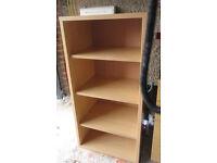 IKEA beech book shelves storage