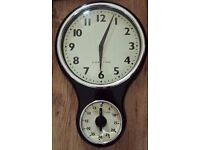 ☆ Black Kitchen Clock and timer ☆ RRP £30
