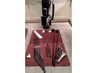 Acer XDS full size, right handed golf set with bag.
