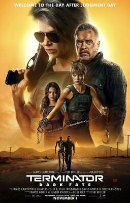 Terminator Dark Fate Movie Poster Art Photo 8x10 11x17 16x20 22x28 24x36 27x40 C