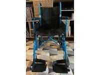 U-Go Esteem Alloy Transit Wheelchair USED Excellent condition RRP £179