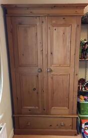 Beautiful solid pine wardrobe