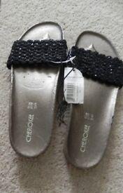 Cherokee sandals unworn with label size 5