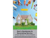 Painting, Decorating & Handyman Services