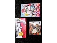 Nintendo 2ds xl + Pokemon Ultra Sun Limited Edition Pokeball Version