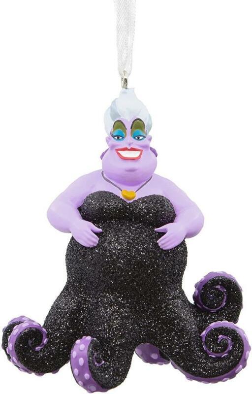 Hallmark Disney The Little Mermaid Ursula Christmas Tree Ornament Holidays Decor