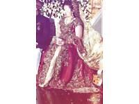 pakistani indian designer bridal dress