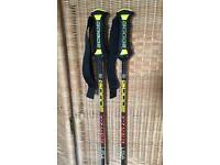 "Goode 8202 Composite ""Pencil"" Ski Poles USA 48"" (22cm) Long w/Adjustable Straps"