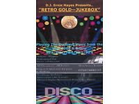 Retro Gold Jukebox Disco & DJ For Hire
