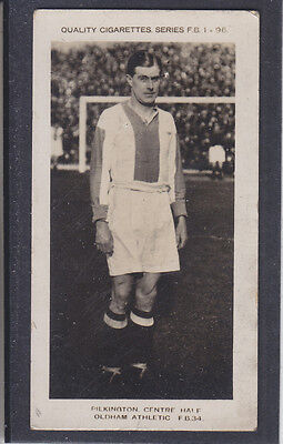 Pattreiouex - Footballers  (FB1-96) 1923 - #  34 Pilkington - Oldham