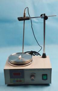 110V Laboratory Magnetic Stirrer with Heating Plate Lab Supply 85-2 Hotplate Mixer 1L 210001