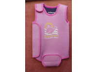 Jojomaman Bebe baby girl wetsuit 12 months