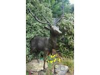 Bronze Metal Stag Statue