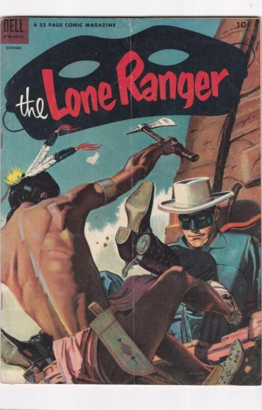 Lone Ranger #64  DELL Comics (1953)