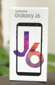 Brand New Original Boxed Samsung Galaxy J6 2018 Dual Sim Factory Unlocked Black