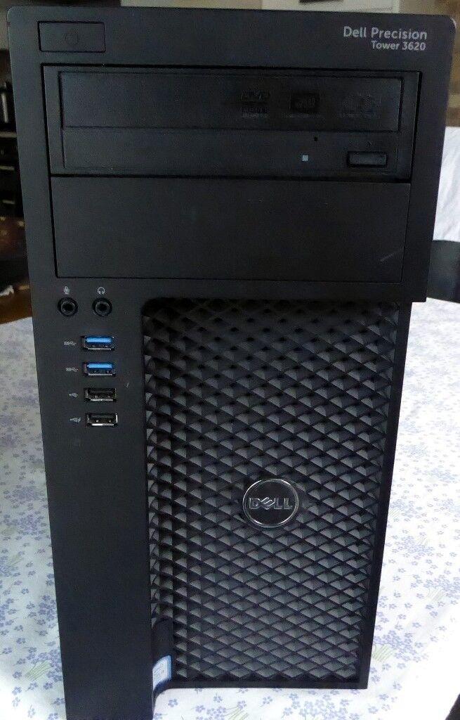 DELL Precision T3620 Core i5-6500 @3.2Ghz 8GB 240 SSD 1TB AMD 2100 Win 10 Office
