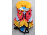 Child's life jacket: Crewsaver Seatoddler 150n